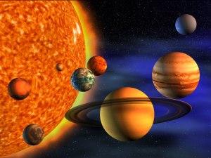 Ο κόκκινος πλανήτης είναι εκείνο το μικρό κόκκινο πραγματάκι να εκεί